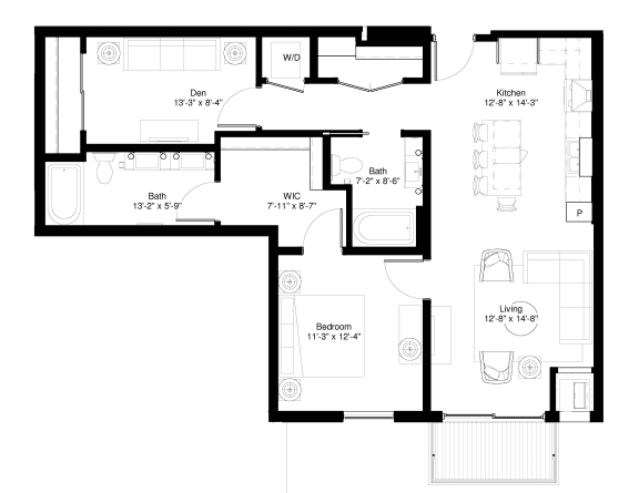 Floor Plan  Red Oak