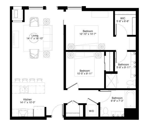 Floor Plan  Red Pine