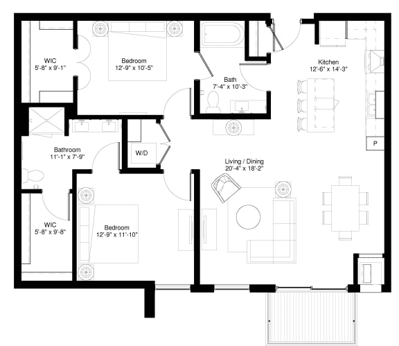 Floor Plan  Red Spruce