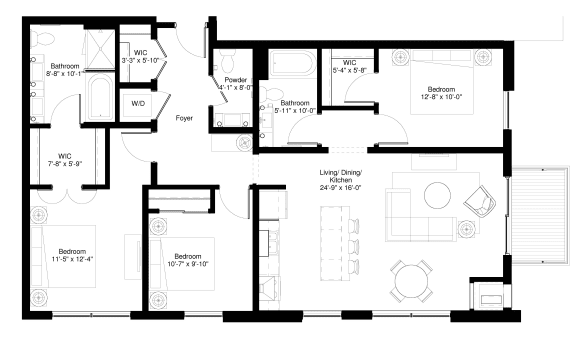Floor Plan  Redcedar