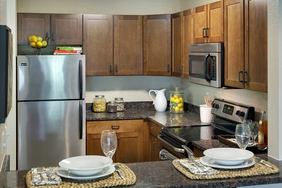 Regency Woods Apartments in Minnetonka, MN Kitchen Stainless Steel Appliances