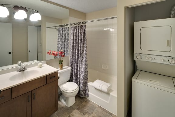 Regency Woods Apartments in Minnetonka, MN Washer and Dryer In-unit