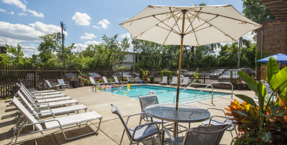 Ridgewood Arches Apartments in Minneapolis, MN Outdoor Pool