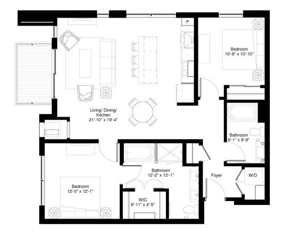 Floor Plan  Slippery Elm