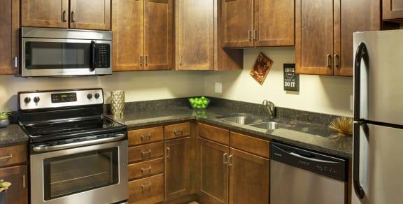 Valley Pond Apartments in Apple Valley, MN Kitchen