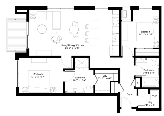 Floor Plan  Walnut