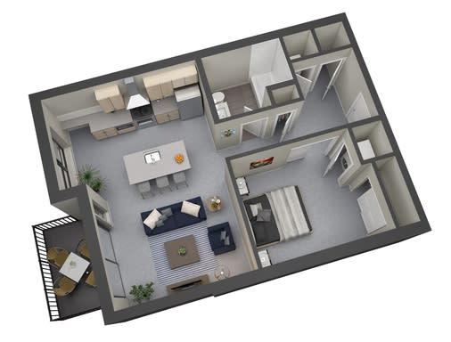 Floor Plan  Whittier