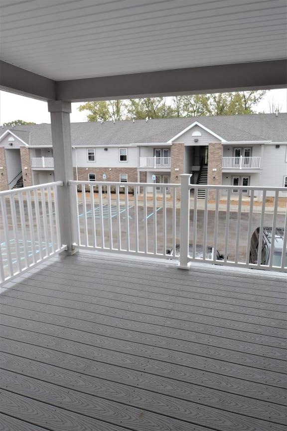 Balcony 2nd floor at Shenandoah Properties, Lafayette, 47905