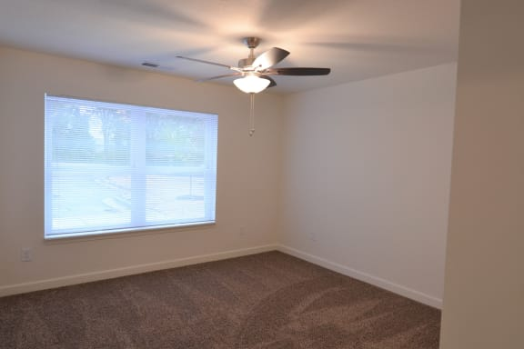 Ceiling Fan In Living Room at Shenandoah Properties, Indiana