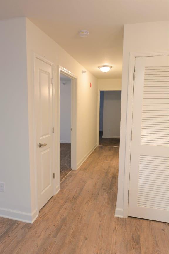 Hallway views at Shenandoah Properties, Lafayette, IN