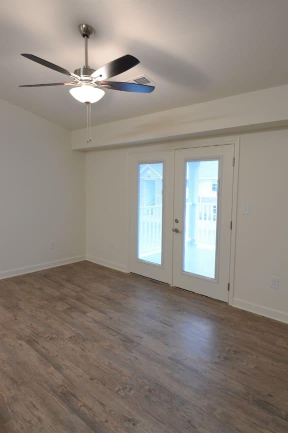 Ceiling Fan In Living Room at Shenandoah Properties, Lafayette, IN