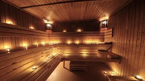 come relax in our featured dry sauna luxurious wow