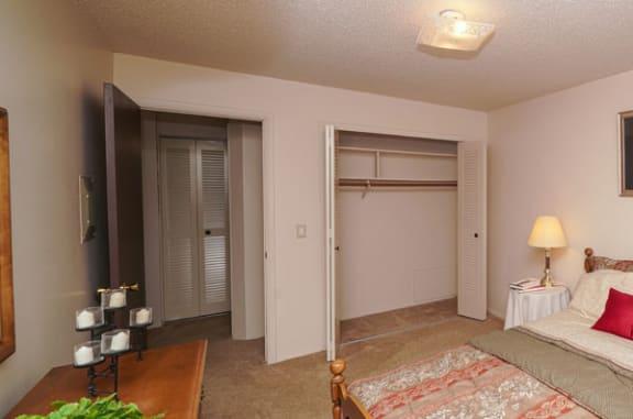 Ample Closet Space at Granada Apartments in Jackson, MI