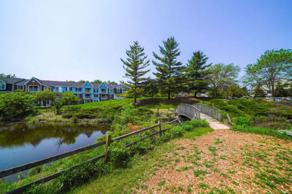 Park-like Grounds with Great Views at Apple Ridge Apartments in Walker, MI