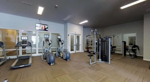 Fitness Center at North Highlands.