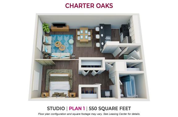 Floor Plan  Studio Plan 1