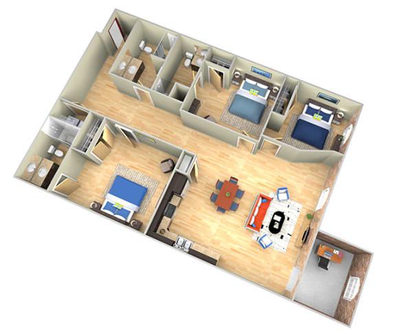 Floor Plan  Revolution Mill Big Winston floorplan