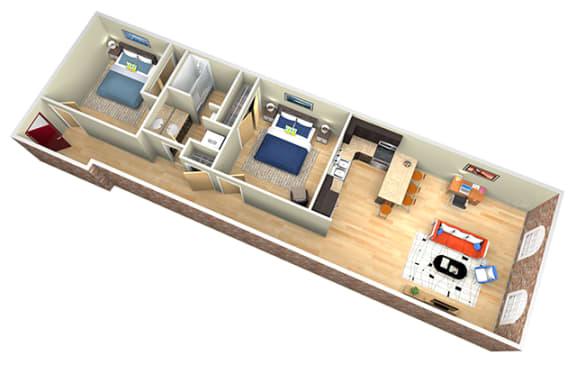 Floor Plan  Revolution Mill Buffalo floorplan