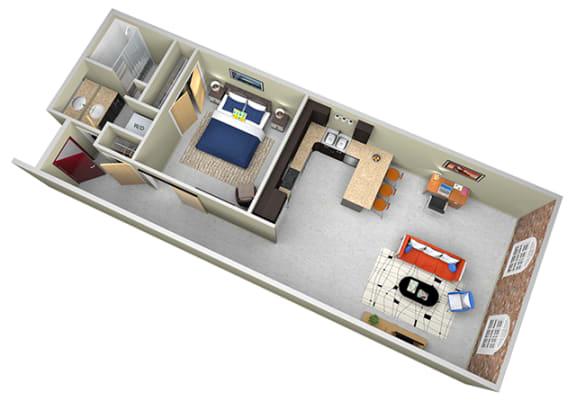 Floor Plan  Revolution Mill Cone floorplan