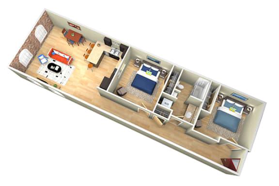 Floor Plan  Revolution Mill Elm floorplan hardwood floors