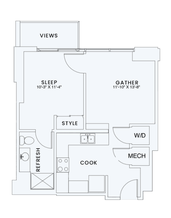 Skyhouse plan A1