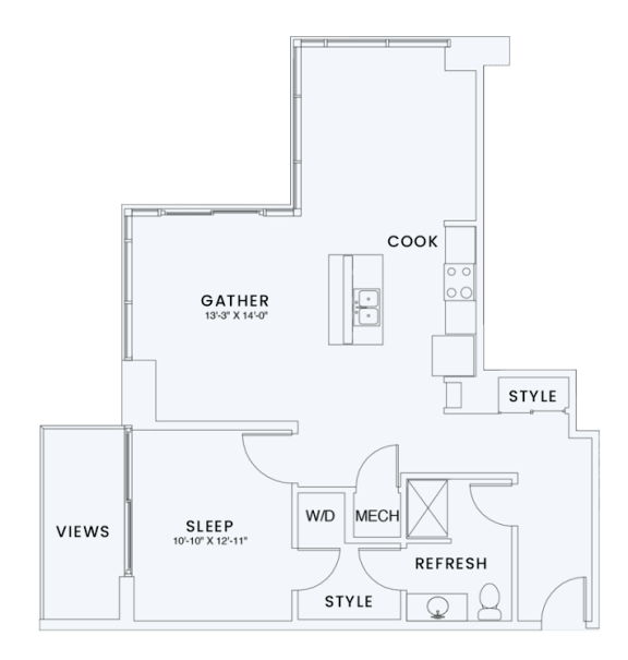 Floor Plan  Skyhouse plan A11