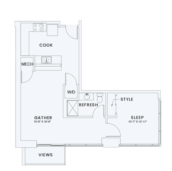 Floor Plan  Skyhouse plan A8