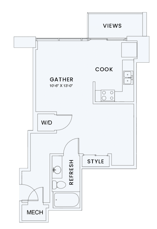Floor Plan  Skyhouse plan S1