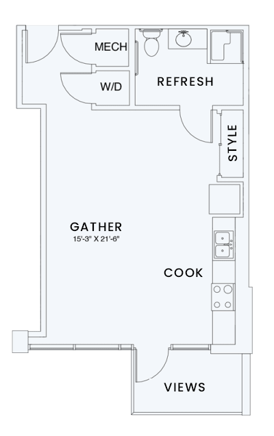 Floor Plan  Skyhouse plan S1A