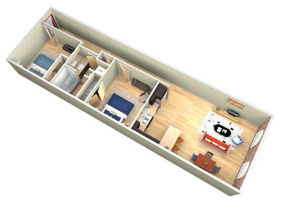 Floor Plan  Revolution Mill Hickory floorplan