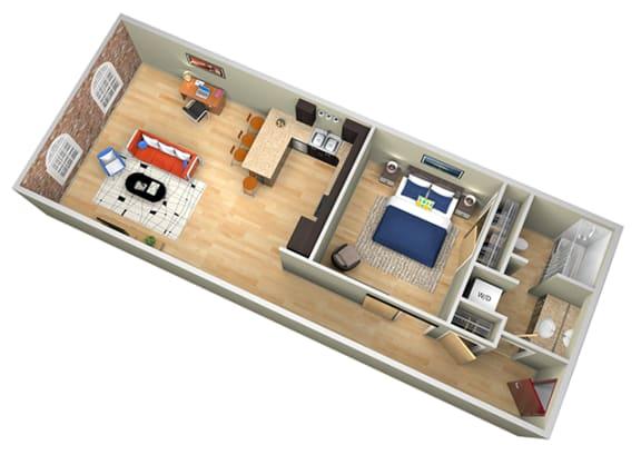 Floor Plan  Revolution Mill Indigo floorplan