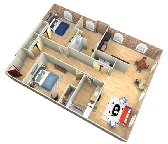 Floor Plan  Revolution Mill Pilot floorplan