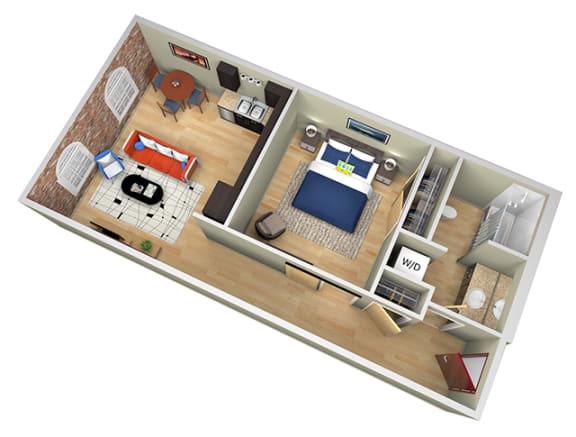 Revolution Mill Proximity floorplan