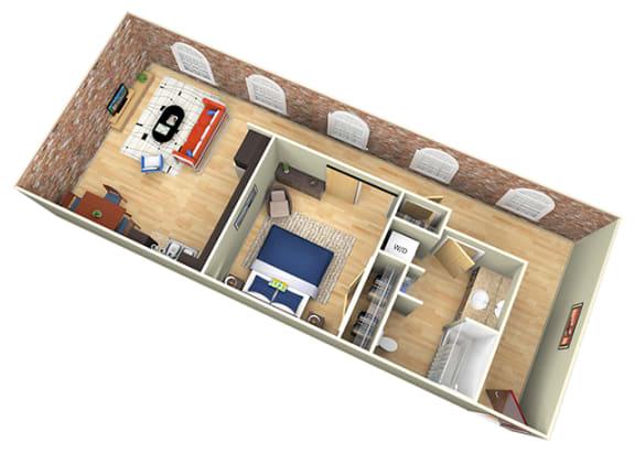 Floor Plan  Revolution Mill White Oak floorplan