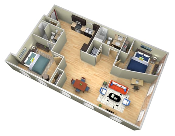 Floor Plan  Revolution Mill Yadkin floorplan hardwood floors