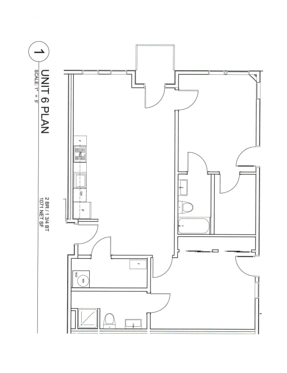 201Lofts Apartments 06 Floor Plan