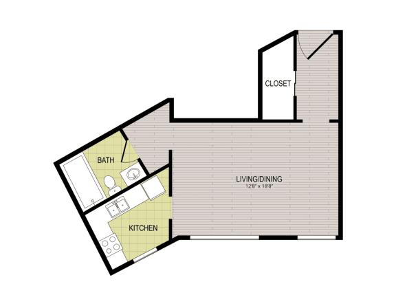 Floor Plan  Broadview Apartments STB Floor Plan
