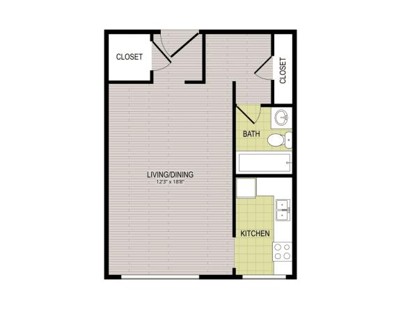 Floor Plan  Broadview Apartments STC Floor Plan
