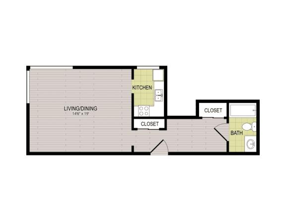 Floor Plan  Broadview Apartments STD Floor Plan
