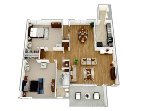 Floor Plan  Broadview Apartments WC21 Floor Plan