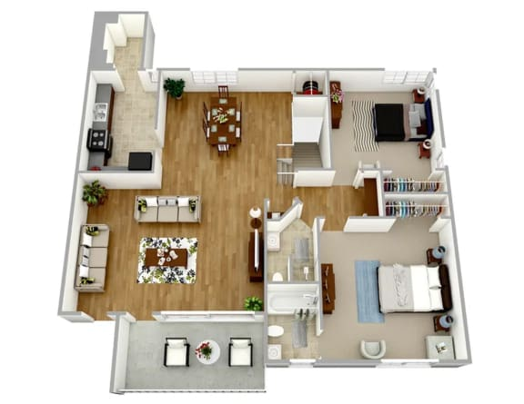 Floor Plan  Broadview Apartments WC22 Floor Plan