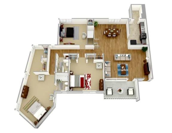 Floor Plan  Broadview Apartments WC32 Floor Plan