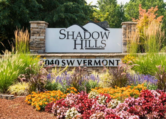 Shadow Hills Property Entry Monument Sign