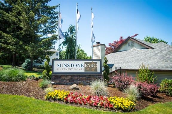 Sunstone Parc Property Entry Monument Sign