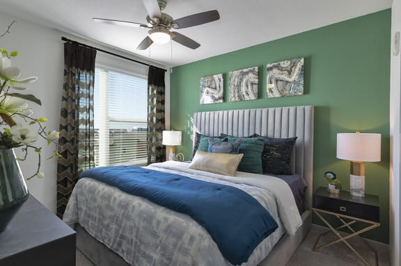 Lighted Ceiling Fan at Integra Sunrise Parc, Kissimmee, 34746