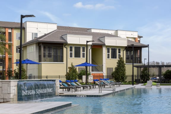 Swimming Pool With Relaxing Sundecks at Integra Sunrise Parc, Florida, 34746