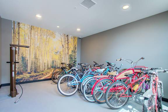 Rise at 2534 bike storage