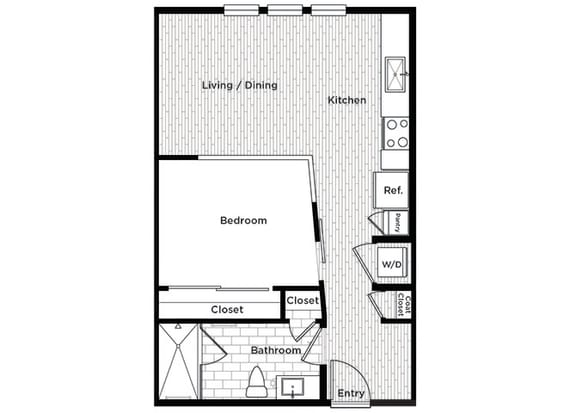 Rise at 2534 A1 1-bedroom