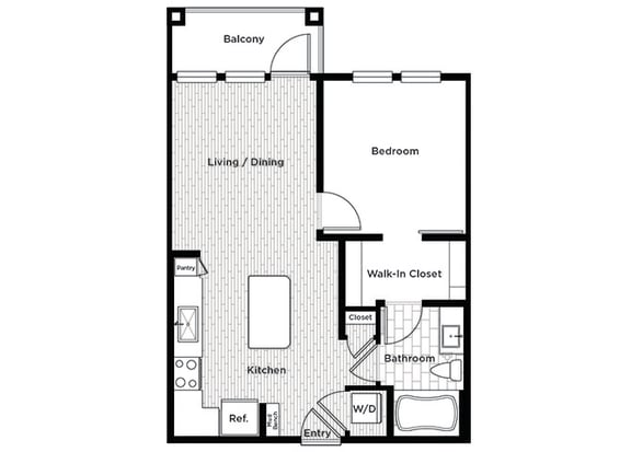 Rise at 2534 A2 1 bedroom