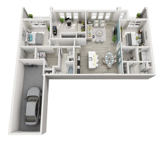 Rhapsody - D1G - 3x2 Floor Plan